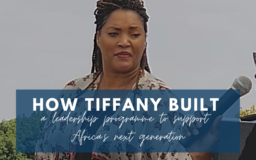 How Tiffany built a leadership programme to support Africa's next generation