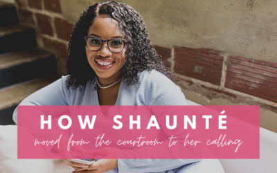 How Shaunté moved from the courtroom to her calling