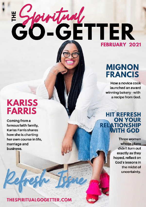 Subscribe to Get the Latest Issue of The Spiritual Go-Getter